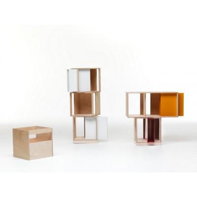 Twin Box Farbiger Einsatz | Weiß