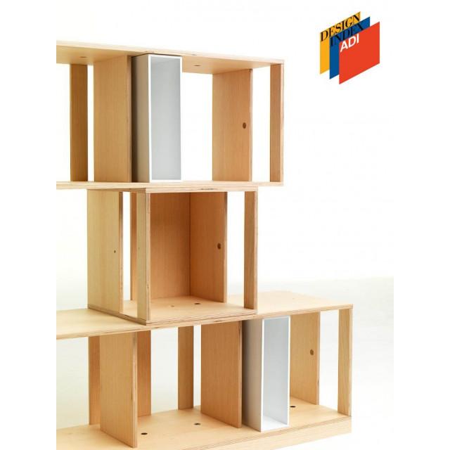 Twin Box Modular Storage Unit | Small Rectangle