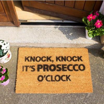 Fußmatte Prosecco O'Clock