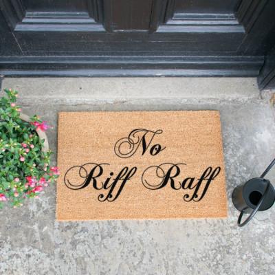 Fußmatte   No Riff Raff