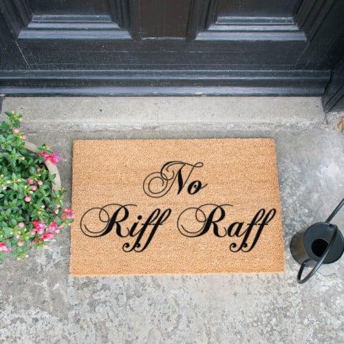 Fußmatte | No Riff Raff