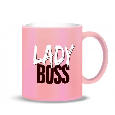 Becher | Lady Boss Pink