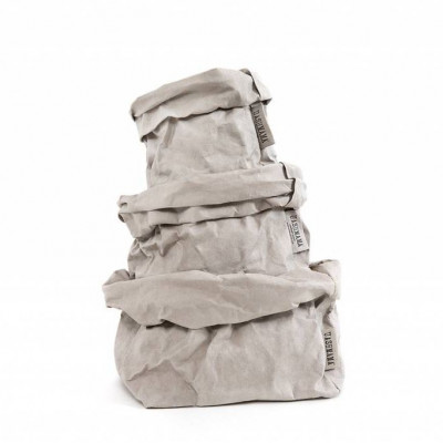 Basic Papiertüte | Grau