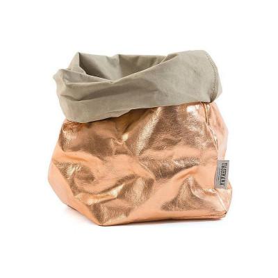 Metallic Paper Bag | Sabbia & Rosé