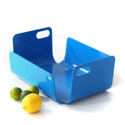 Korb / Schale Unibody   Blau