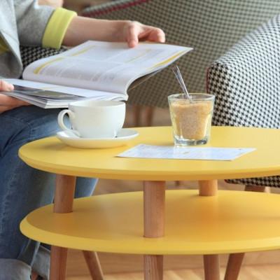 UFO-Kaffeetischrunde | Gelb
