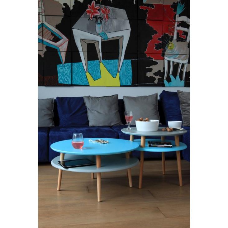Round Coffee Table UFO | White