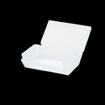 Vesperdose Uhmm Box No. 01 | Durchsichtig Weiß