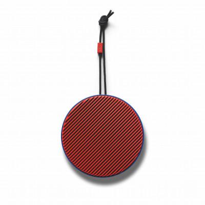 Tragbarer Bluetooth-Lautsprecher City | Rot