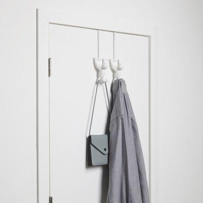Buddy Over The Door Crochet de Porte Double | Blanc