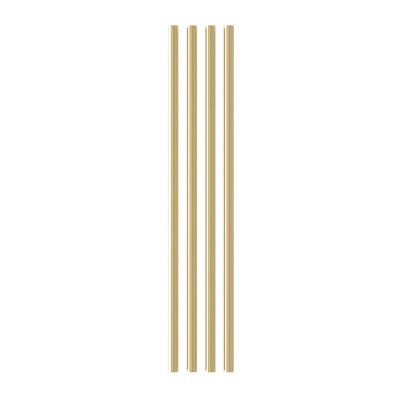 Extra-Space Rods / Regalteiler für Teaser-Regal   Messing