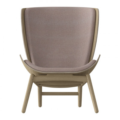 Sessel The Reader Eiche | Dusty Pink