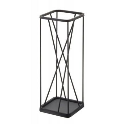 Umbrella Stand 9 Square | Black