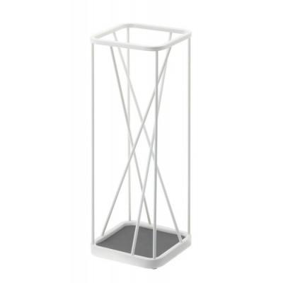 Umbrella Stand 9 Square | White