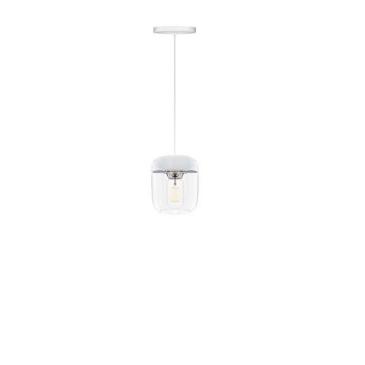Lampenschirm Acorn   Weißer polierter Stahl