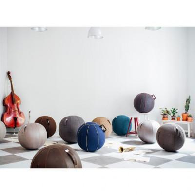 Sitzball VLUV STOV | Betonfarbe
