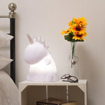 Uni die Einhorn Bettseitenlampe