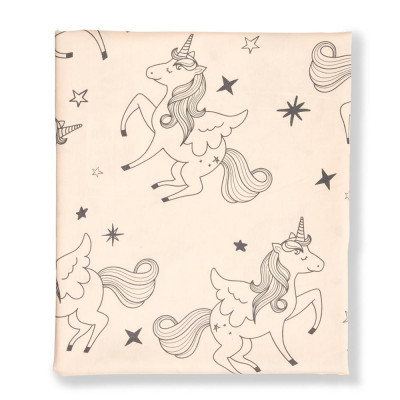 Fitted Sheet Cot | Unicorn