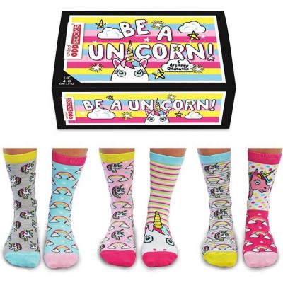 Socken Be A Unicorn   6er-Set