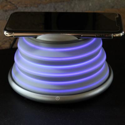Drahtloses Ladegerät mit farbwechselnden LED-Stimmungslichtern
