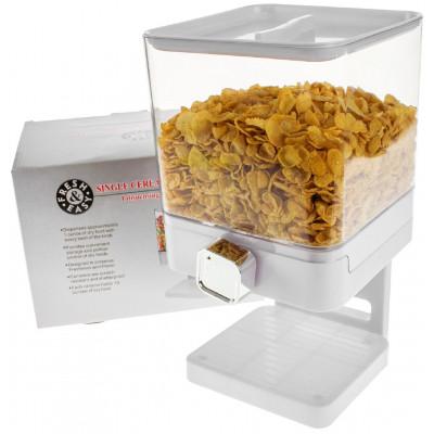 Luxuriöser Einzel Cornflakesspender | Weiß