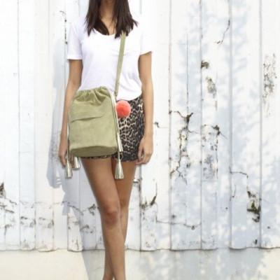 Ibiza Bucket Bag | Olive
