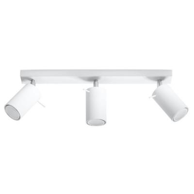 Deckenlampe Ring 3   Weiß
