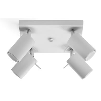 Deckenlampe Ring 4   Weiß