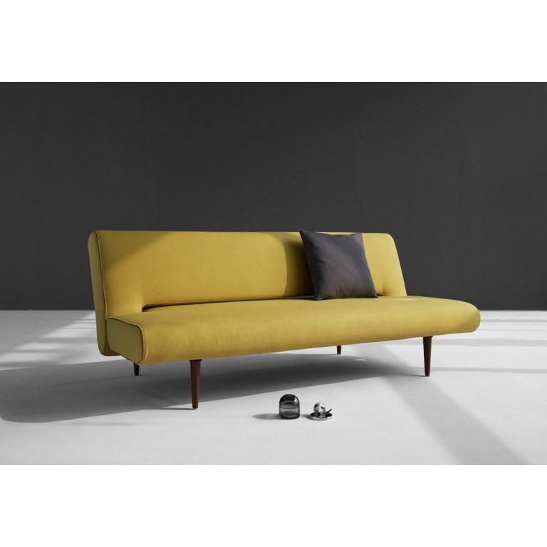 Unfurl Sofabed | Soft Mustard