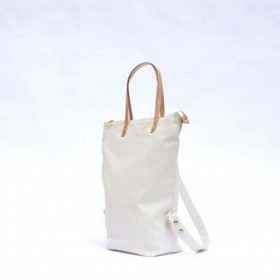 Urban Tote Rucksack - Off White
