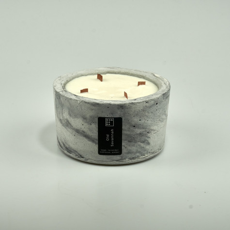 Scented Candle Old Savannah | Grey