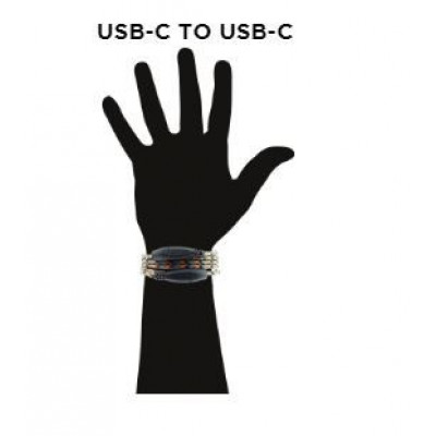 Wristband Charge Cable USB C to USB C   Survival