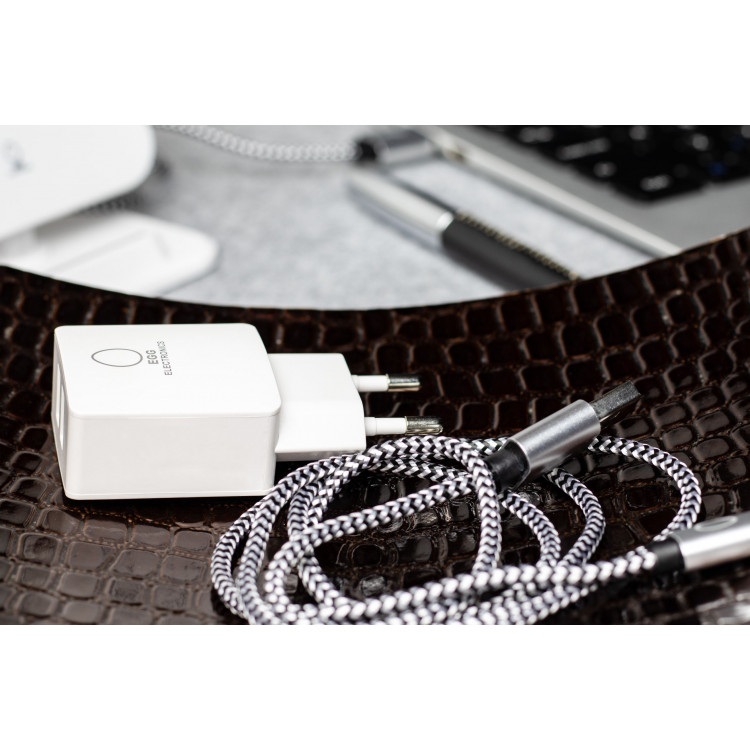 Charging Cable USB-C | Black & White