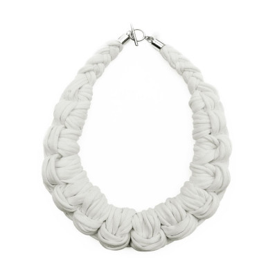 Knotted Necklace | Off White