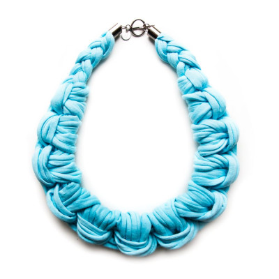 Knotted Necklace | Sky Blue