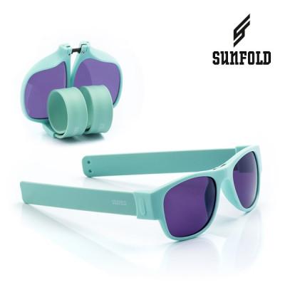 Aufrollbare Sonnenbrille Sunfold PA3 | Grün