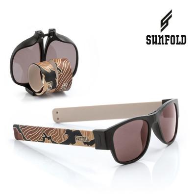 Aufrollbare Sonnenbrille Sunfold TR6 | Braun