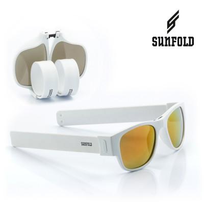 Aufrollbare Sonnenbrille Sunfold ES6 | Weiß