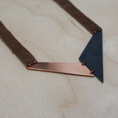Necklace V | Copper & Black
