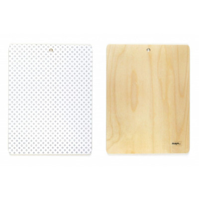 Wooden Board Dotty | Medium