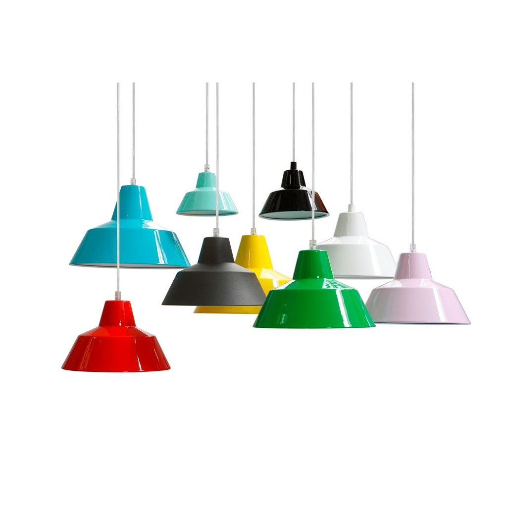 Workshop Lamp Red