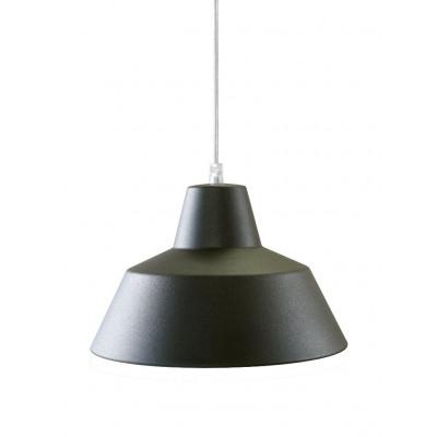 Werkstattlampe Grau