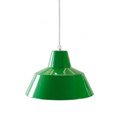 Werkstattlampe Grün