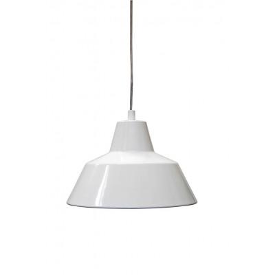 Werkstattlampe Weiß