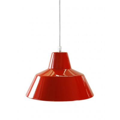 Werkstattlampe Rot