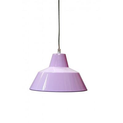 Werkstattlampe Hellrosa