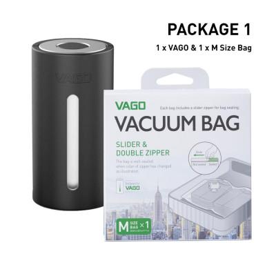 Vago Luggage Compressor   Black