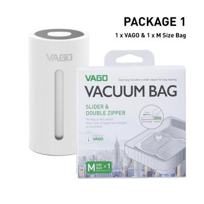 Vago Luggage Compressor   White