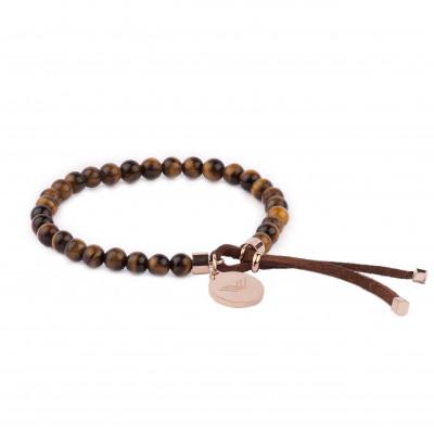 Bracelet Pearls | Bronze