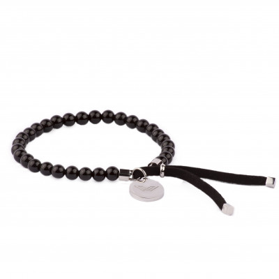 Bracelet Pearls | Black